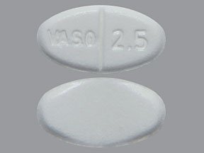 Image 0 of Enalapril Maleate 2.5 Mg Tabs 100 By Valeant Pharma.