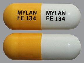 Fenofibrate 134 Mg Caps 90 By Mylan Pharma.