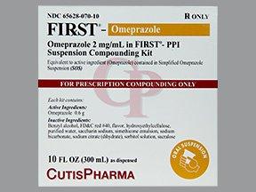 First-Omeprazole 2Mg/Ml Kit 10 Oz By Cutis Pharma.