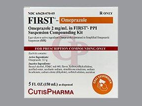 First-Omeprazole 2Mg/Ml Kit 5 Oz By Cutis Pharma.