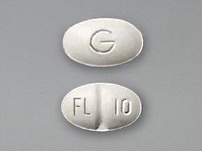 Fluoxetine Hcl 10 Mg 100 Tabs By Mylan Pharma.