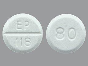 Furosemide 80 Mg 100 Tabs By Leading Pharma