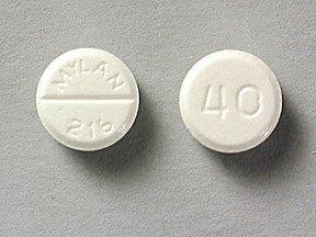 Furosemide 40 Mg RR 25 Tabs By Mylan Pharma