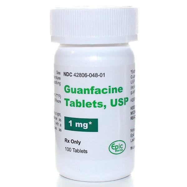 Guanfacine Hcl 1 Mg Tabs 100 By Epic Pharma.