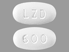Image 0 of Linezolid 600 Mg 30 Unit Dose Tabs By Apotex Corp