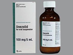 Linezolid 100Mg 5Ml Sus 150 Ml By Greenstone Ltd