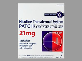 Image 0 of Nicotine Transdermal 21 Mg Patches 7 Ct