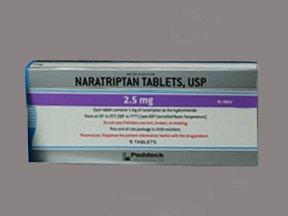 Naratriptan 2.5 Mg Tabs 9 By Perrigo Co