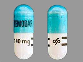 Temodar 140 Mg 14 Caps By Merck & Co.
