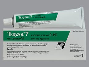 Terazol-7 0.4% Cream 45 Gm Tube By J O M Pharma