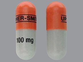 Topiramate 100 Mg Caps 30 By Upsher-Smith.