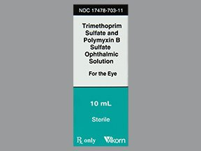 Trimethoprim-Polymyxin B Oph Drops 10 Ml By Akorn Inc