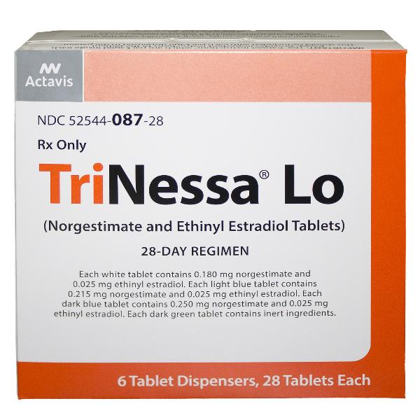 Trinessa LO Tablets 6X28 By Actavis Pharma