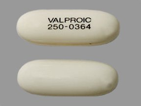 Valproic Acid 250 Mg 100 Unit Dose Caps By Mckesson Packaging