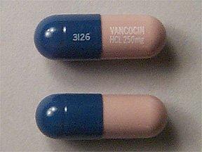 Vancocin 250 Mg Caps 20 By Ani Pharma.