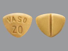Vasotec 20 Mg 30 Tabs By Valeant Pharma.