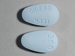 Viread 300 Mg Tabs 30 By Gilead Sciences