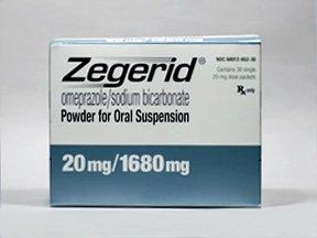 Zegerid Oral Susp 20 Mg 30 Powder By Valeant Pharma