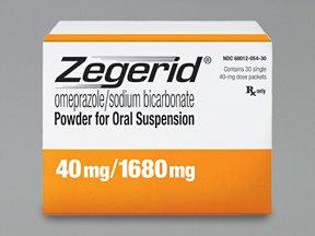 Zegerid Oral Susp 40 Mg 30 Powder By Valeant Pharma