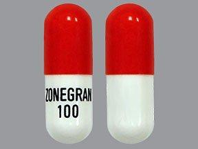Image 0 of Zonegran 100 Mg Caps 100 Concordia Pharma