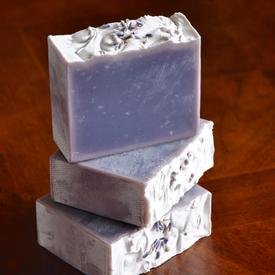 Lavender Gourmet Artisan Soap With Hemp & Shea By Jayme Jane