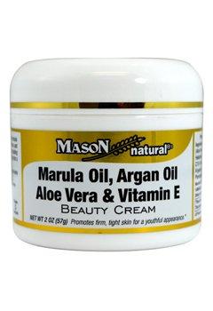 Image 0 of Marula Oil, ArgenOil, Aloe Vera &Vitamin E Beauty Cream 2oz by Mason Vitamins