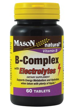 Image 0 of B-Complex with Electrolytes 60ct by Mason Vitamins