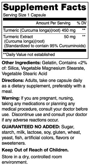 Image 1 of Turmeric 60 Capsules by Mason Vitamins