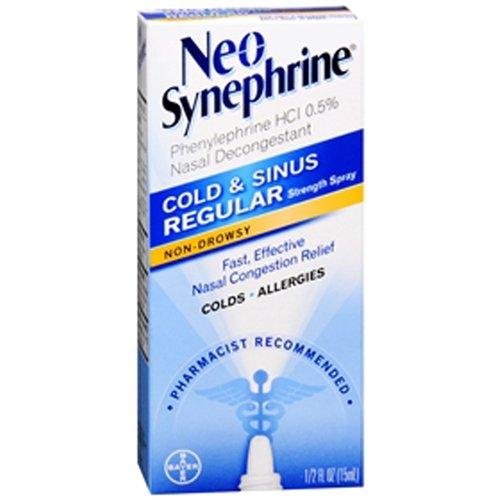 Image 0 of Neo-Synephrine Cold & Sinus Regular Strength Spray 0.5 Oz