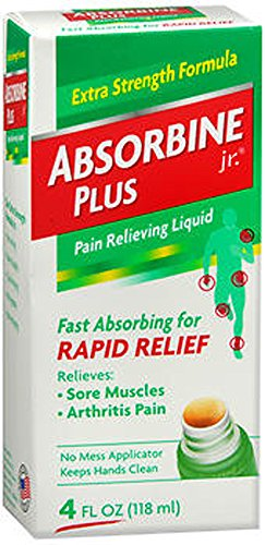 Image 0 of Absorbine Jr Plus Pain Relief Liquid 4 Oz