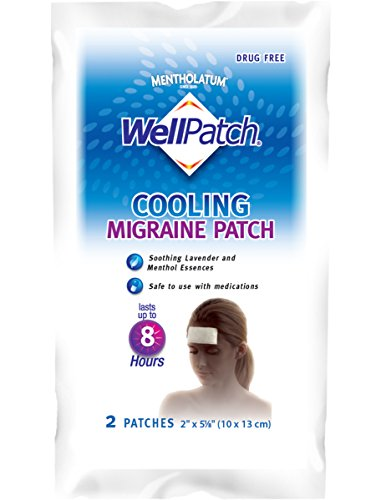 Wellpatch Migraine Cooling 4 Patches