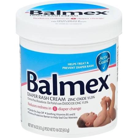 Balmex Diaper Rash Cream 16 Oz