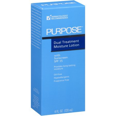 Purpose Dual Treat Moisture Spf 15 Lotion 4 Oz