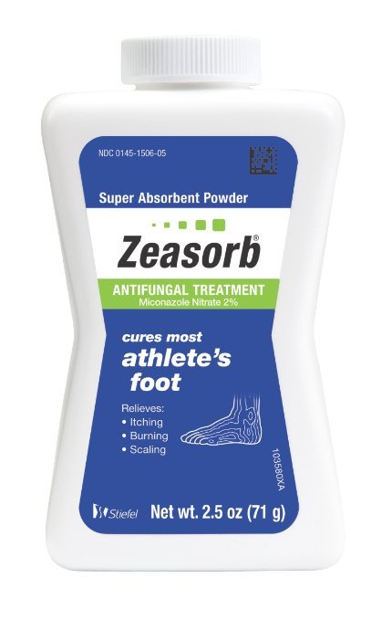 Zeasorb Anti Fungal Treatment Powder 2.5 Oz