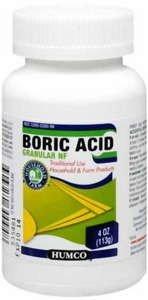 Boric Acid Nf Granule 4 Oz By Humco Holding