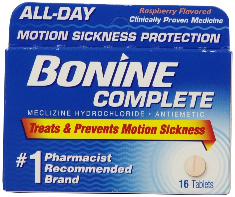 Bonine Chew able 25 Mg 16 Tabs