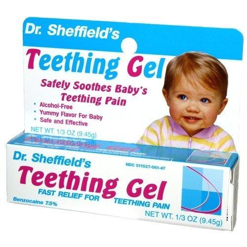 Dr. Sheffield's Baby Teething Gel .33oz