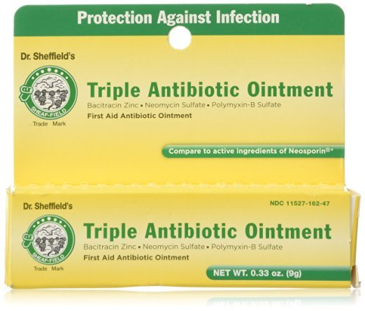 Dr. Sheffield Triple Antibiotic Ointment 0.33 Oz