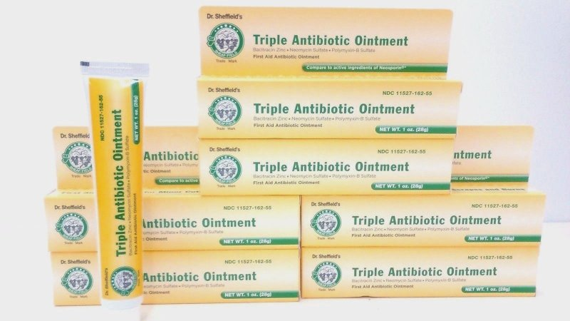 Dr. Sheffield Triple Antibiotic Ointment 1 Oz