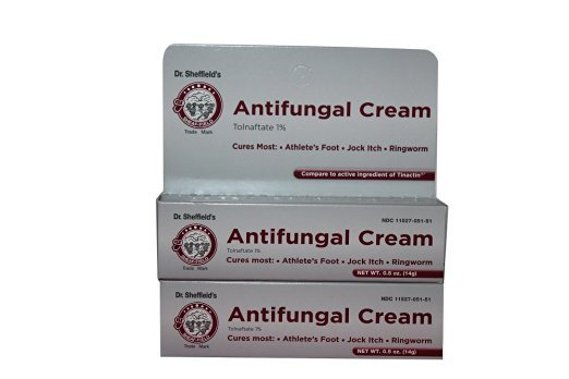 Dr. Sheffield's Tolnaftate 1% Anti fungal Cream 0.5 Oz