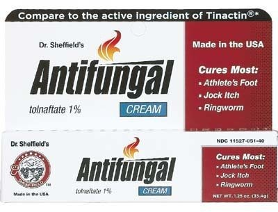 Dr. Sheffield's Tolnaftate 1% Anti fungal Cream 1.25 Oz