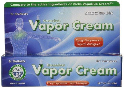 Image 0 of Dr Sheffield's Vapor Cream 1 Oz