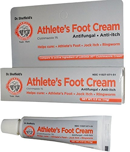 Dr. Sheffield's Athlete's Foot Cream 0.5 Oz
