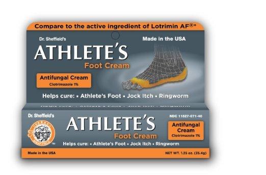 Dr. Sheffield's Athlete's Foot Cream 1.25 Oz