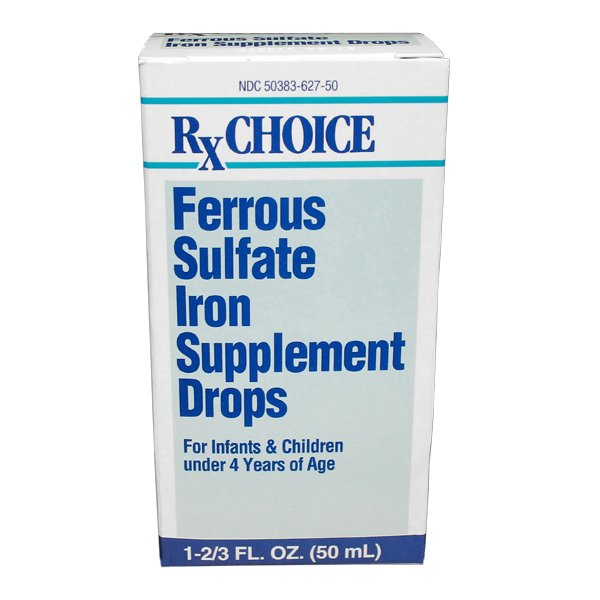 Ferrous Sulfate 15Mg/Ml Drop 50 Ml
