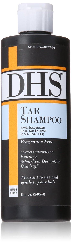 DHS Tar Shampoo 8 Oz
