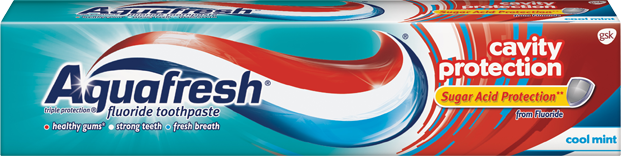 Aquafresh Cavity Protection Paste 5.6 Oz