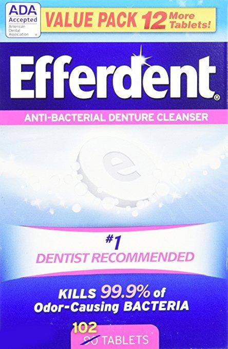 Efferdent Original 102 Tablet