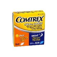 Comtrex Cold Cough Day Night 24 Caplet