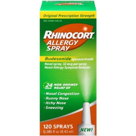 Rhinocort Otc Allergy 120 Spray